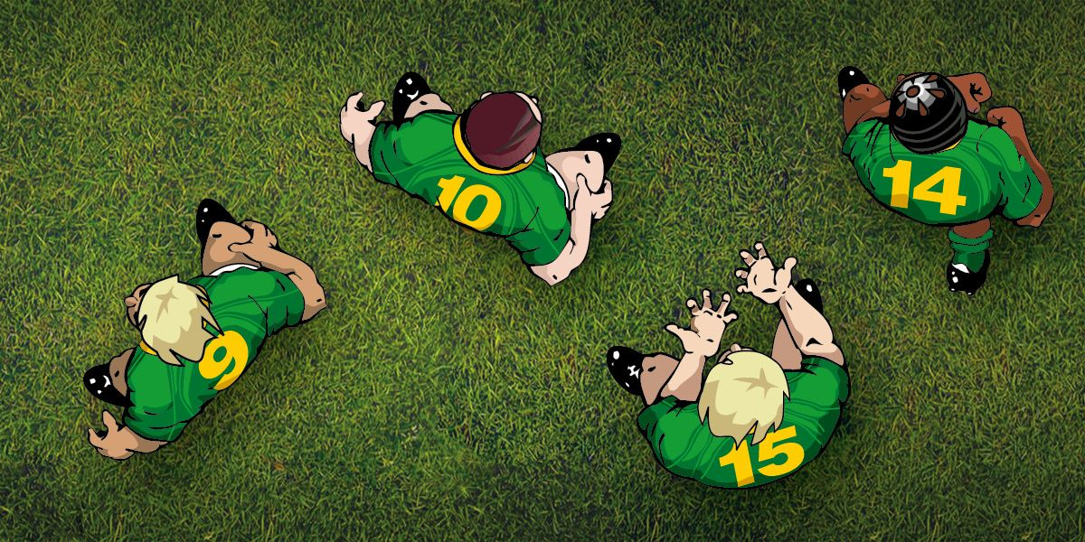 Targeting Key players in Crash Tackle Rugby Game