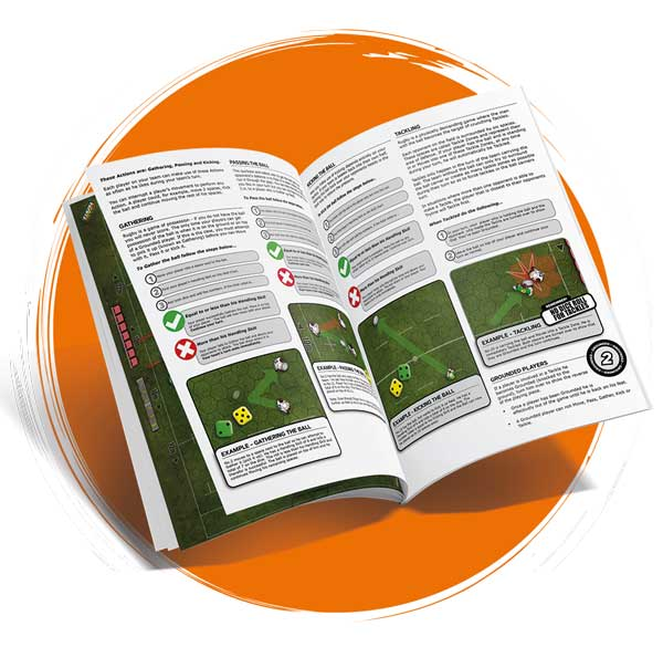 Crash Tackle Rugby Board Game Rule Book